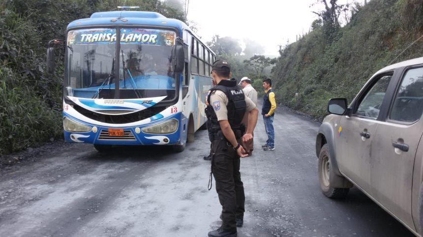 operativo interinstitucional en carreteras de la provincia